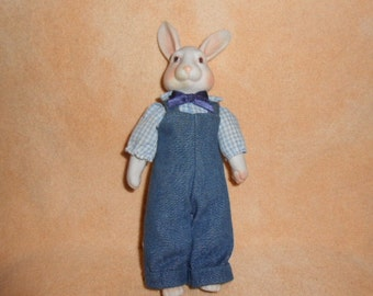 Mr. Easter Rabbit-Bisque-8 Inches