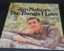 Vintage Vinyl Record Jim Nabors: The Things I Love Album CS-9503
