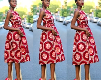 FOLA - Ready to Ship - Midi Dress