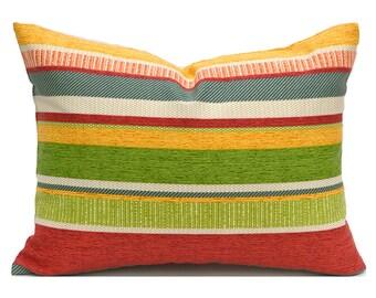 Outdoor Lumbar Pillow Cover ANY SIZE Decorative Pillow Cover Green Pillow Richloom Outdoor Coltrane Garden