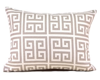 Lumbar Pillow Cover ANY SIZE Decorative Pillow Cover Ecru Pillow Premier Prints Onyx Natural