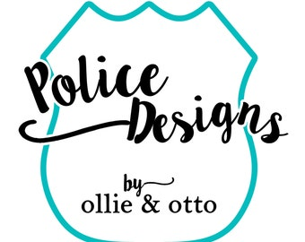 Custom Police Officer Cop Support Family Vinyl Decals - MANY to CHOOSE FROM!