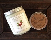 FRAZIER FIR + SANDALWOOD - Soy Candle - 8oz Jar