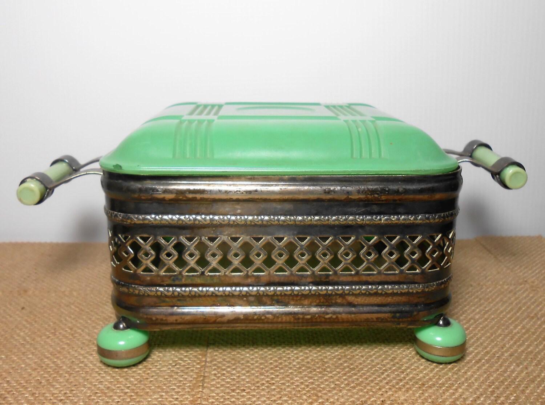 Vintage Casserole Dish Frame Agee Pyrex Lewbury Silver