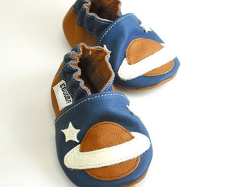 soft sole baby shoes leather infant kids children girl boy gift space 12 18 m  ebooba 35-3