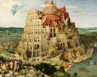 The Tower Of Babel - Vintage Image