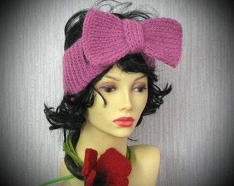 Handmade Knit Headband Knitted Headband Knit Headband Winter fashion fashion by Albado