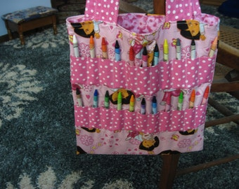 Crayon Bag -- Dora!