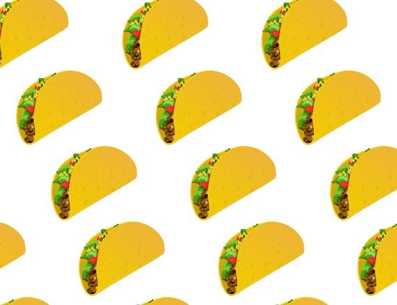 Custom taco emoji fabric by mindycreates on etsy for Emoji fabric