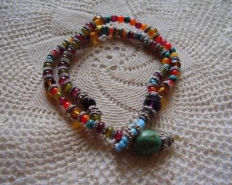Vintage Retro Beaded Bracelet