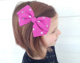 Magnta Hair Bow