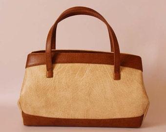 Authentic vintage 1950s handbag, Kelly bag, vintage purse, Made in England