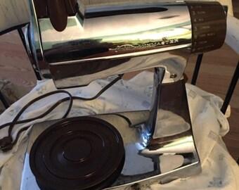 Vintage chrome Sunbeam mixer...FREE shipping!!!