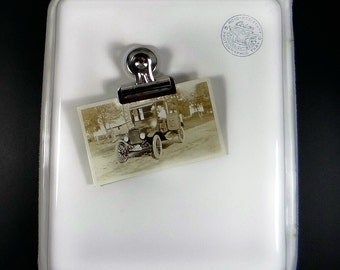 Cesco Photographic Tray - Vintage Enamel Tray - Vintage Photography - Photograph Developing
