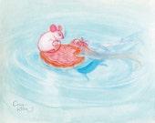 O Mouse! Art Print
