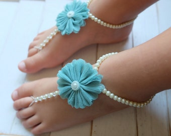 Baby barefoot sandals,foot petals,toddler barefoot sandals,baby girl gift, baby shoes,flower girl shoes,bridesmaids shoes