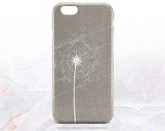 iPhone 7 Case Dandelion Linen iPhone 7 Plus iPhone 6s Case iPhone SE Case iPhone 6 Case iPhone 5S Case Galaxy S7 Case Galaxy S6 Case I54
