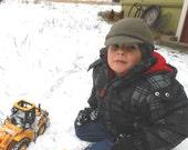 Kid's Winter Cap, Cashmere