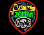 Artemis Customized Patches With Character Names