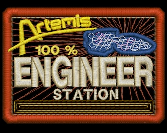 Artemis Engineer Station Insignia Patch