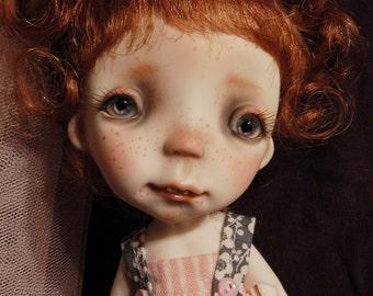 Petit Bubu'Full set doll ,collectible BJD' resin OOAK doll, by Chrishanthi ''Ppinkydolls''