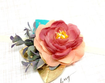 M2M Made to Match Matilda Jane Once Upon a Time Flower Cluster Headband or Clip