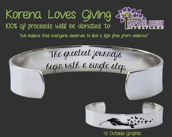 Inspirational Gifts | Encouragement Jewelry | Encouragement Gifts | Inspirational Jewelry | Inspirational Bracelet | Korena Loves Giving