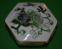 ON SALE  Vintage  Box By Coalport in the Cathay Pattern