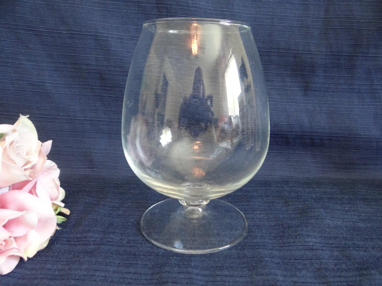 crystal brandy snifter elegant barware classic barware