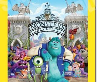 Monsters University Invitation Printable - Printable Birthday Party Invite