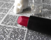 Freddy - Bold Red with Green Shimmer - Pick you Lipstick Tube and Point - Gothic Goth Lipstick Opaque Color Dark Lips Bold Horror Movie