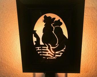 Aristocats Inspired Nightlight