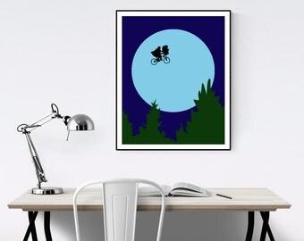 E.T. Minimalist Poster