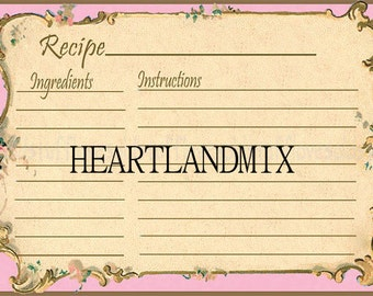 Download Recipe Cards