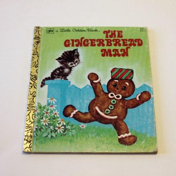 A Little Golden Book: The Gingerbread Man 1979