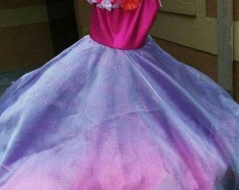 Barbie and the Secret Door Alexa Hot Pink Dress