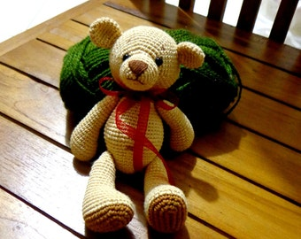 Classic Teddy Bear Amigurumi Crochet Pattern