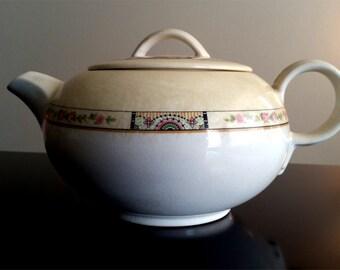 American Limoges Sebring Ohio Manhattan Teapot