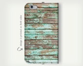 Beach Wood Pattern , iPhone 6 Case , Wallet Cases , iPhone 6s Case , Turquoise Case , iPhone 6 Plus Case , Leather Case , Wallet