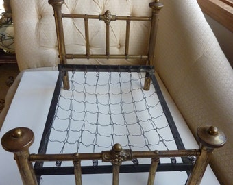 Antique Salesman Sample Bed