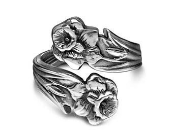 """Spoon Ring: """"Lilly"""" by Silver Spoon Jewelry"""