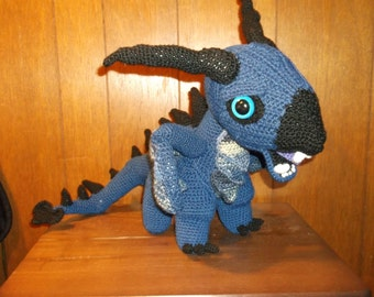 Harry Potter inspired Baby Hebridean Black Dragon