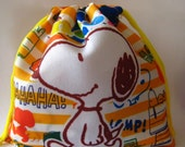 Snoopy/Peanuts Grab Bag Pouch Filled with Licensed Merchandise.
