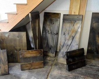 Superb and rugged barn cabinet doors