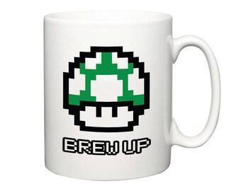 Super Mario 1 UP mug