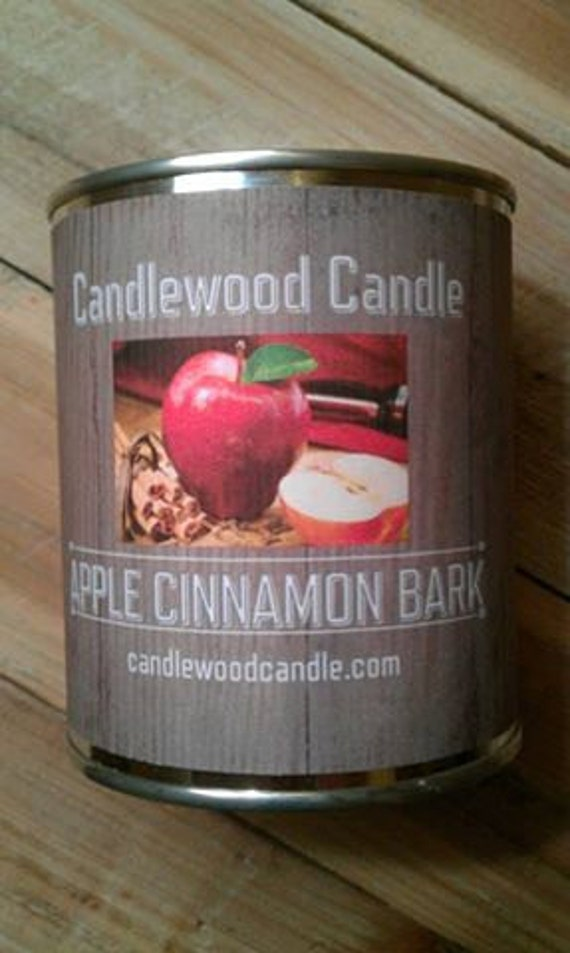 APPLE CINNAMONBARK -  PERSONALIZED Gift, Christmas Gift, Gift for Woman,Custom Gift, Send your message, Free Shipping in United States 16 oz