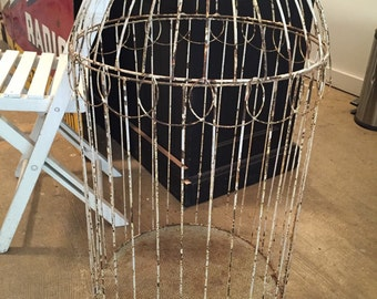 SOLD Vintage Wire Birdcage