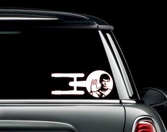 Enterprise Spock Decal