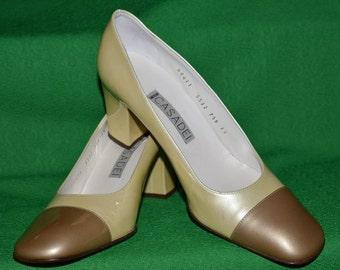 Vintage CASADEI Patent Leather Shoes  1970s