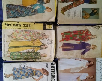 McCalls, Simplicity and Butterick Vintage Patterns